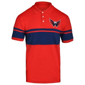 Washington Capitals Stripe Polo