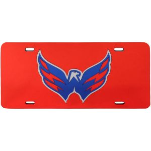 Washington Capitals WinCraft Logo Crystal Mirror License Plate