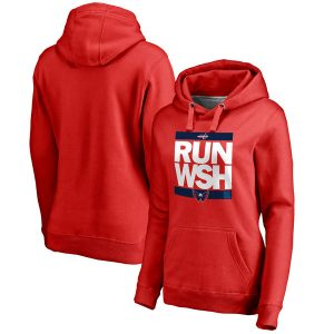 Washington Capitals Women's RUN-CTY Pullover Hoodie