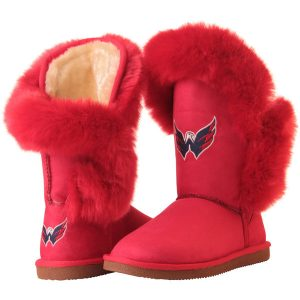 Women's Washington Capitals Cuce Red Champions Boots