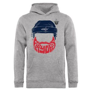 Youth Washington Capitals 2017 NHL Stanley Cup Playoff Participant Full Beard Pullover Hoodie