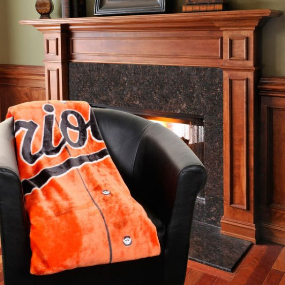 PLUSH Orioles and Ravens BLANKET 50″ X 60″!!! Buy both and enter code and get FREE SHIPPING!!!