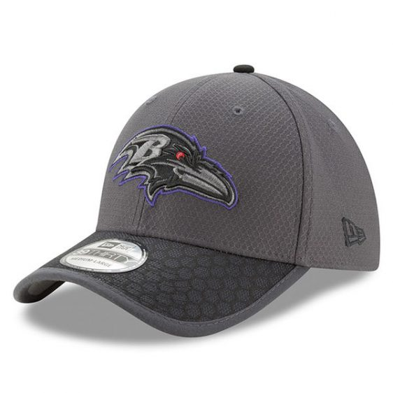 Ravens Sideline Hat. New Era 39Thirty