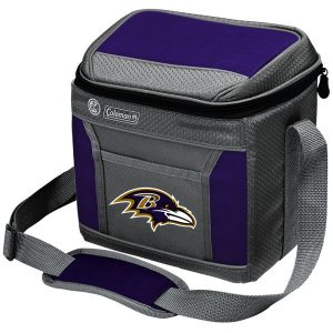 Baltimore Ravens Coleman 9-Can 24-Hour Soft-Sided Cooler