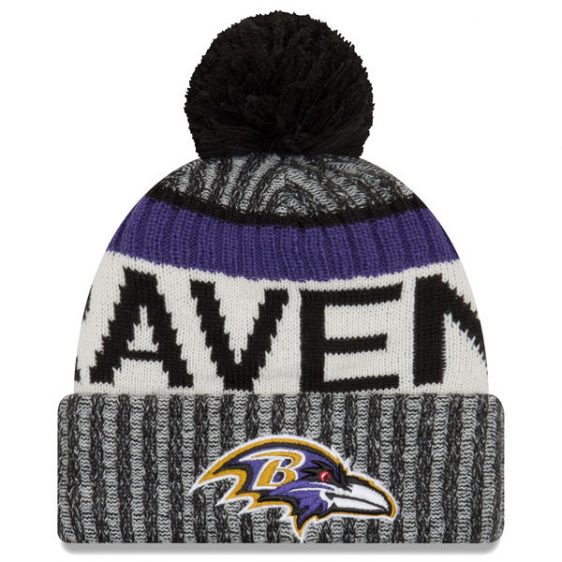 Cool Baltimore Ravens Knit Cap (New Era)