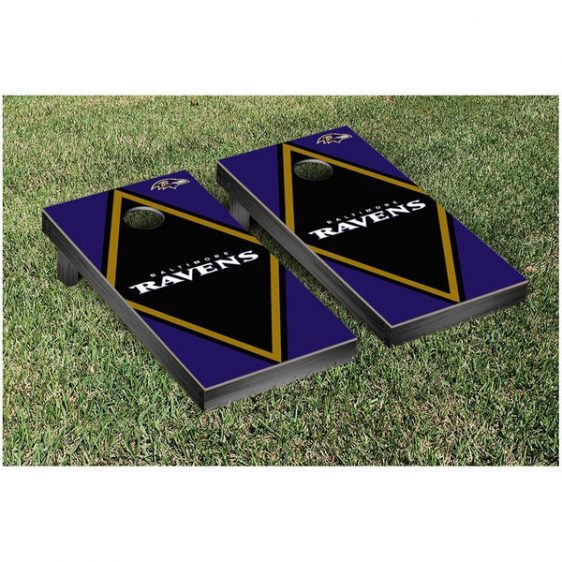 Get ready for Ravens Parties with one of these Cornhole Sets. Many designs to choose from….AND FREE SHIPPING too!!!!