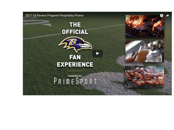 Ravens Pre-Game Hospitality Packages (starting under $100)…Check this out!!!