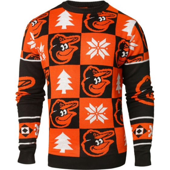 Orioles Ugly Sweater!!! Just in time for your upcoming holiday parties!!!