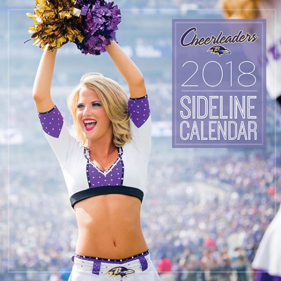 Ravens 2018 Cheerleader Calendar!!! Only $18