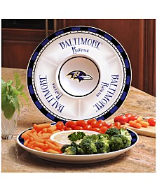 Baltimore Ravens Ceramic Party Plate